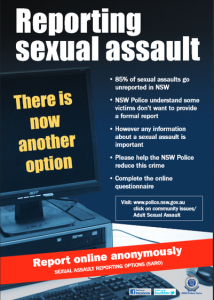 Sexual Assault Reporting Options